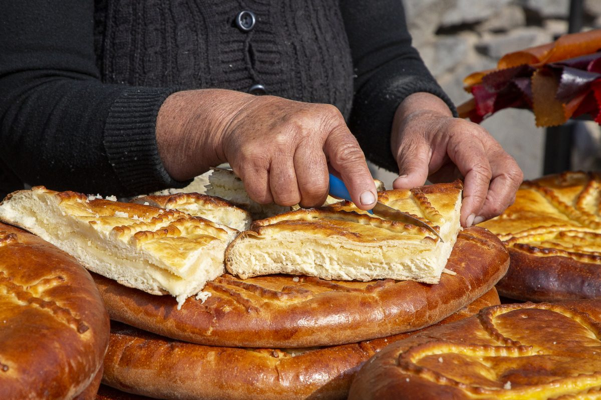 Armenian Gata Bread in Armenia