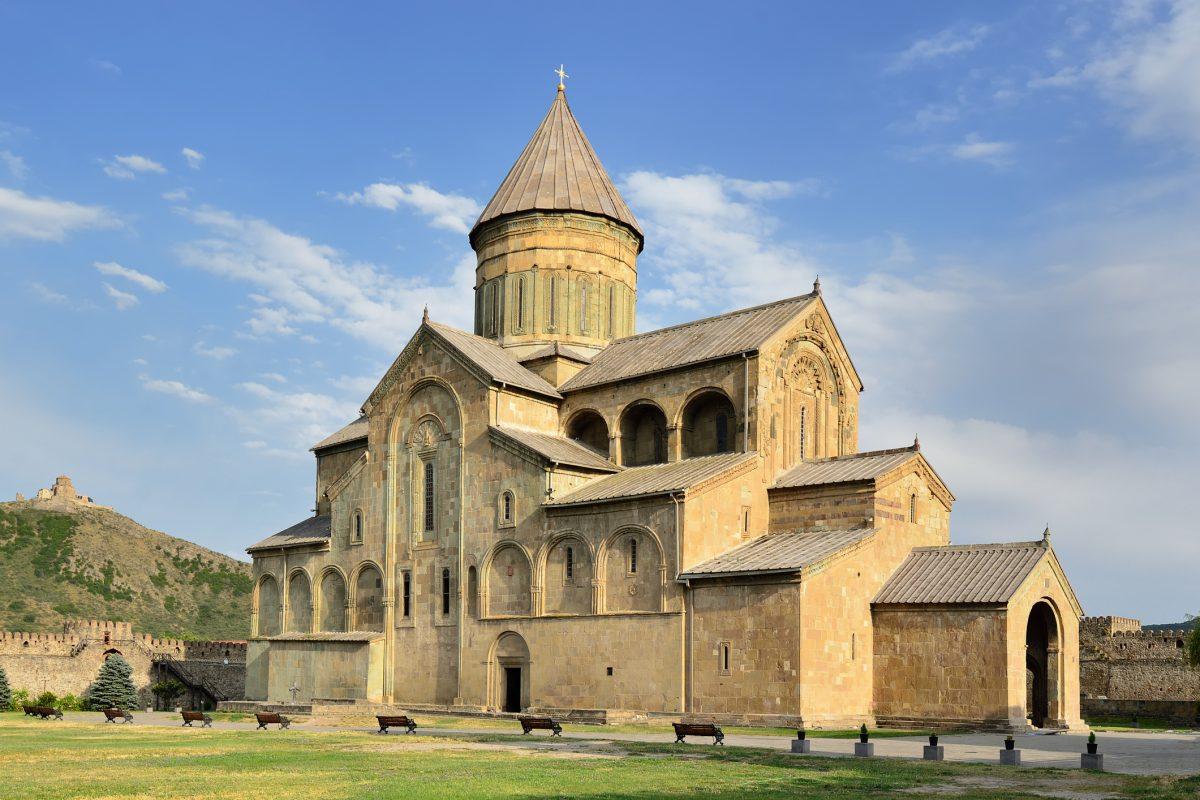 Mtskheta, Georgia, Sweti Cchoweli cathedral