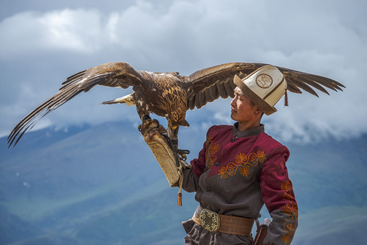 Kyrgyz Hunter  Eagle